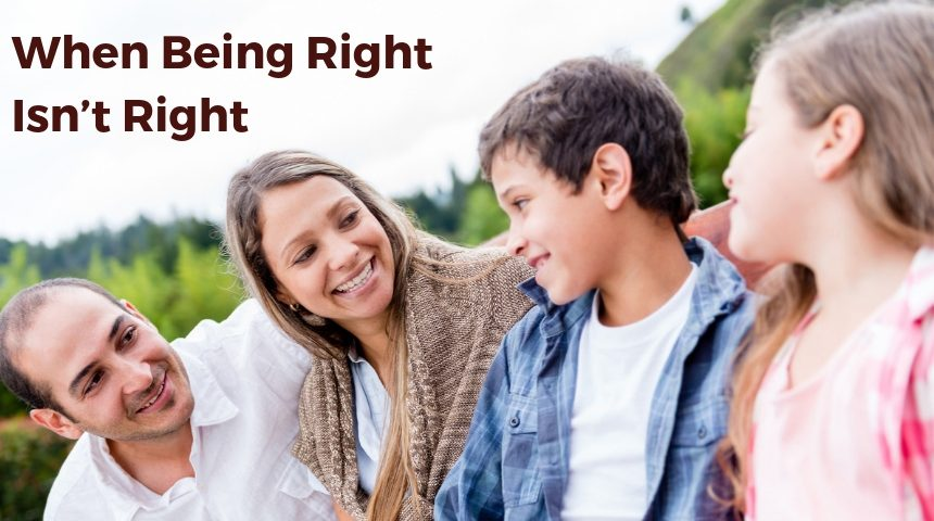 When Being Right Isn't Right