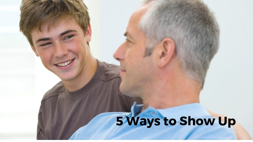 5 Ways to Show Up
