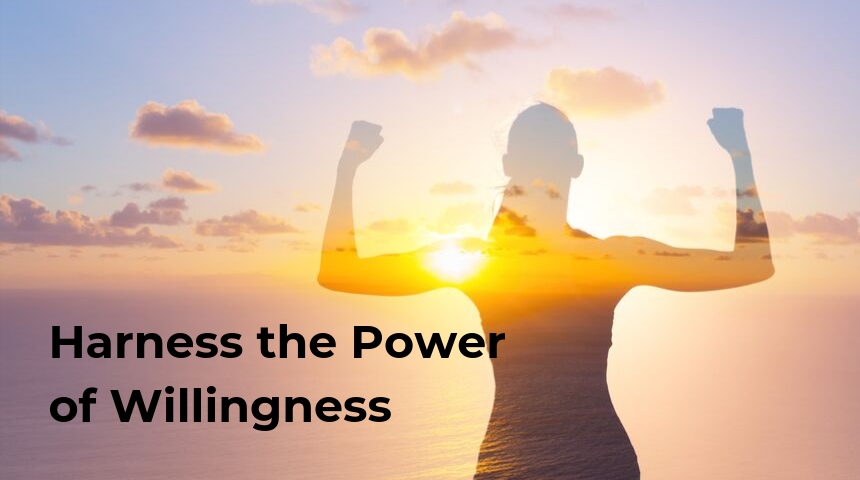 Harness the Power of Willingness