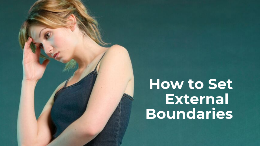 How Do I Set External Boundaries?