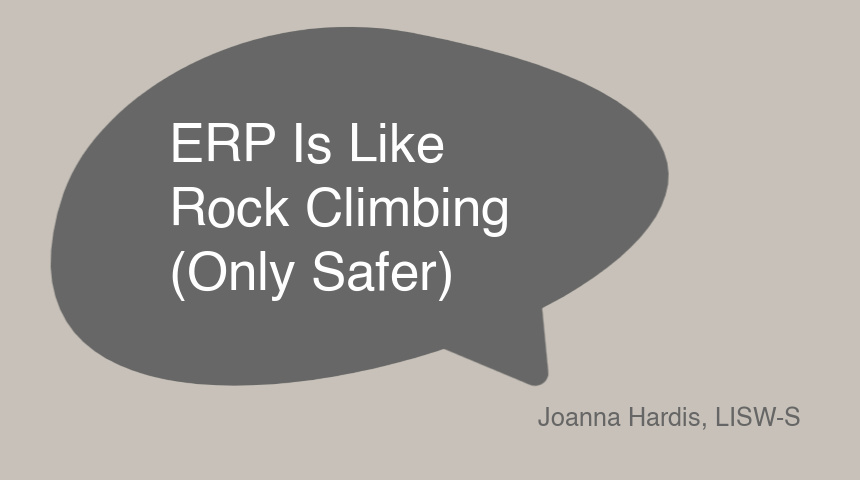 ERP Is Like Rock Climbing (Only Safer)